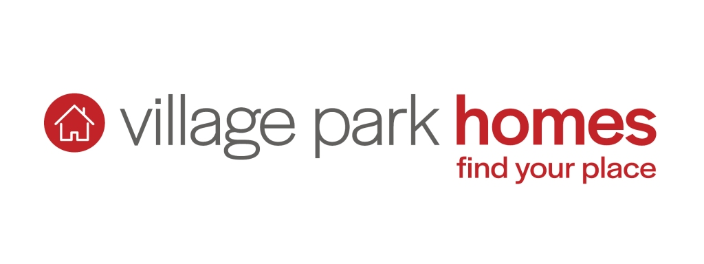 This image has an empty alt attribute; its file name is logo-village-park-homes-color-with-tagline-01-copy.jpg